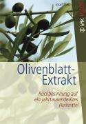 Josef Pies: Olivenblatt-Extrakt, Buch