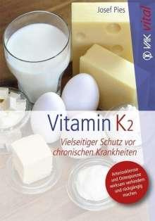 Josef Pies: Vitamin K2, Buch
