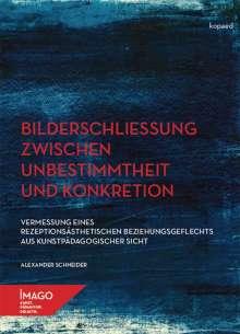Alexander Schneider: Bilderschließung zwischen Unbestimmtheit und Konkretion, Buch