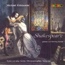 Michael Köhlmeier: Shakespeare, 2 CDs