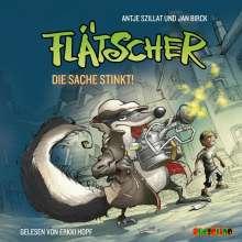 Antje Szillat: Flätscher 01. Die Sache stinkt, CD