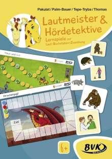 Dorothee Pakulat: Inklusion von Anfang an: Deutsch - Lautmeister & Hördetektive - Lernspiele zur Laut-Buchstaben-Zuordnung, Diverse