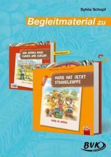 Sylvia Schopf: Begleitmaterial zu Marie hat jetzt Stachelzöpfe, Buch