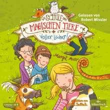 Margit Auer: Die Schule der magischen Tiere 02: Voller Löcher!, 2 CDs