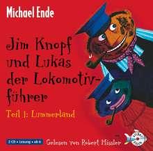 Michael Ende: Jim Knopf und Lukas der Lokomotivführer - Teil 1: Lummerland, 2 CDs