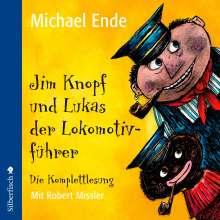 Michael Ende: Jim Knopf und Lukas der Lokomotivführer - Die Komplettlesung, 6 CDs