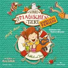 Die Schule der magischen Tiere - Endlich Ferien 1 - Rabbat und Ida, 2 CDs