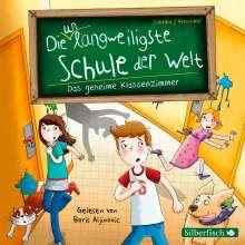 Sabrina Kirschner: Die unlangweiligste Schule der Welt. Das geheime Klassenzimmer, 2 CDs