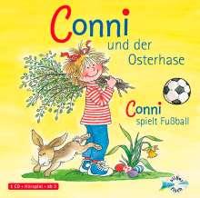 Julia Boehme: Conni und der Osterhase / Conni spielt Fußball, CD