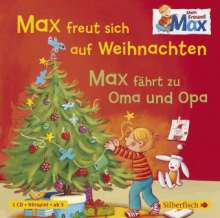 Christian Tielmann: Mein Freund Max. Max freut sich auf Weihnachten / Max fährt zu Oma und Opa, CD