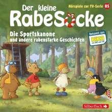 Der kleine Rabe Socke - Die Sportskanone und andere rabenstarke Geschichten, CD
