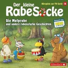 Der kleine Rabe Socke - Die Mutprobe und andere rabenstarke Geschichten (Hörspiele zur TV Serie 16), CD