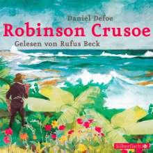 Daniel Defoe: Robinson Crusoe, 4 CDs