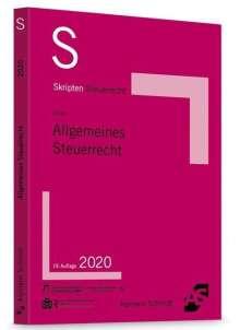 Klaus-Dieter Drüen: Skript Allgemeines Steuerrecht, Buch
