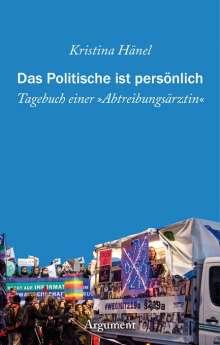 Kristina Hänel: Das Politische ist persönlich, Buch