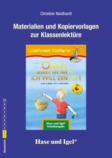 Gudrun Mebs: OMA, schreit der Frieder. ICH WILL ERNTEN! / Silbenhilfe. Begleitmaterial, Buch