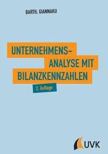 Thomas Barth: Unternehmensanalyse mit Bilanzkennzahlen, Buch