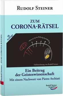 Rudolf Steiner: Zum Corona-Rätsel, Buch