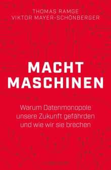 Viktor Mayer-Schönberger: Machtmaschinen, Buch
