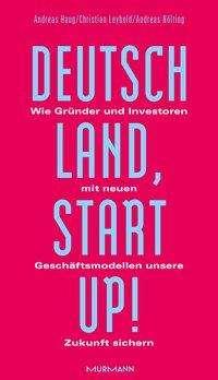 Andreas Haug: Deutschland, Startup!, Buch