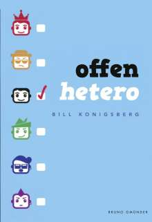 Bill Konigsberg: Offen Hetero, Buch