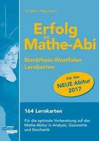 Helmut Gruber: Erfolg im Mathe-Abi 2017 NRW Lernkarten, Buch