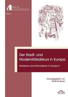 Der Stadt- und Modernitätsdiskurs in Europa, Buch