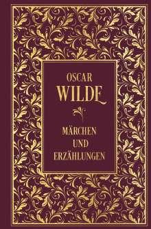 Oscar Wilde: Märchen und Erzählungen: mit Illustrationen von Aubrey Beardsley und Alfons Mucha, Buch