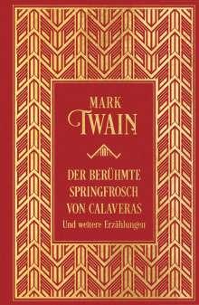 Mark Twain: Der berühmte Springfrosch von Calaveras und weitere Erzählungen, Buch