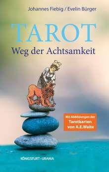 Johannes Fiebig: Tarot. Weg der Achtsamkeit (Buch), Buch