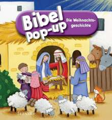 Karen Williamson: Bibel-Pop-up Die Weihnachtsgeschichte, Buch