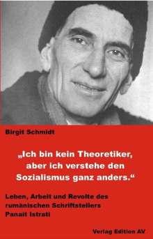 Birgit Schmidt: Ich bin kein Theoretiker, aber ich verstehe den Sozialismus ganz anders., Buch