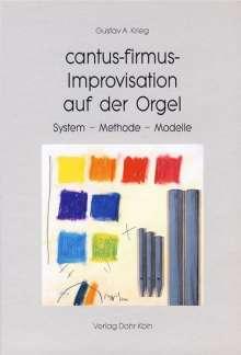 cantus-firmus-Improvisation auf der Orgel, Buch