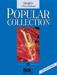 Arturo Himmer: Popular Collection 8. Trumpet + Piano / Keyboard, Noten