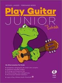 Play Guitar Junior mit Schildi, Buch