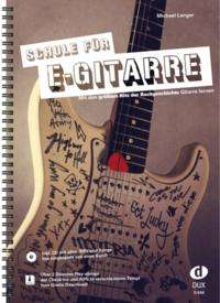 Michael Langer: Schule für E-Gitarre, Buch