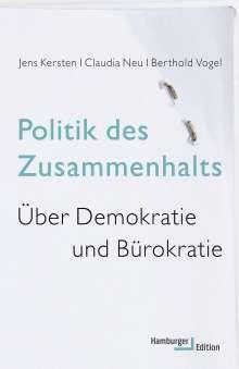Jens Kersten: Politik des Zusammenhalts, Buch