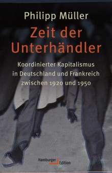 Philipp Müller: Zeit der Unterhändler, Buch