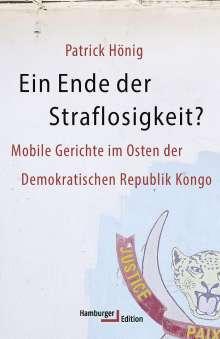 Patrick Hönig: Ein Ende der Straflosigkeit?, Buch