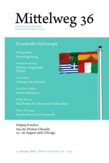 Wolfgang Kraushaar: Konstrukt Südeuropa, Buch