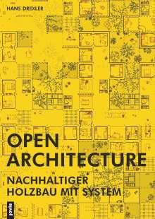 Hans Drexler: Open Architecture, Buch