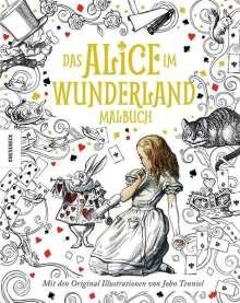 Lewis Carroll: Das Alice im Wunderland Malbuch, Buch