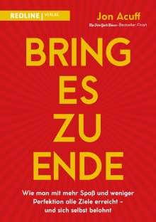 Jon Acuff: Bring es zu Ende!, Buch