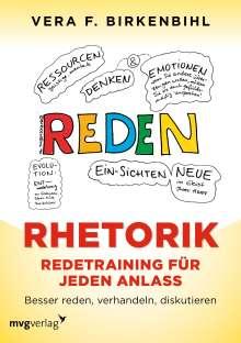 Vera F. Birkenbihl: Rhetorik. Redetraining für jeden Anlass, Buch