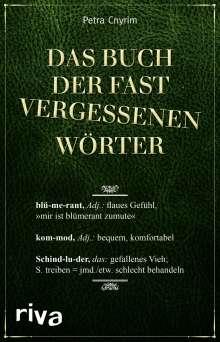 Petra Cnyrim: Das Buch der fast vergessenen Wörter, Buch
