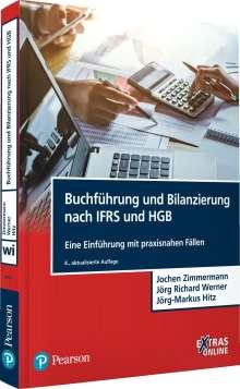 Jochen Zimmermann: Buchführung und Bilanzierung nach IFRS und HGB, Buch