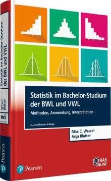 Max C. Wewel: Statistik im Bachelor-Studium der BWL und VWL, Buch