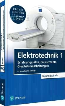 Manfred Albach: Elektrotechnik 1, 1 Buch und 1 Diverse