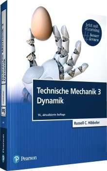 Russell C. Hibbeler: Technische Mechanik 3 Dynamik, 1 Buch und 1 Diverse
