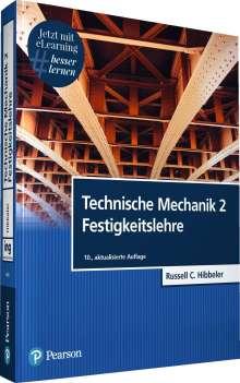 Russell C. Hibbeler: Technische Mechanik 2 Festigkeitslehre, 1 Buch und 1 Diverse